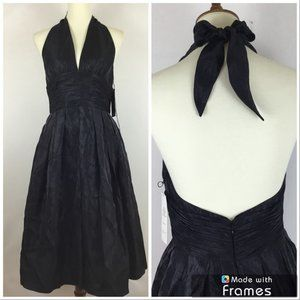 Adrianna Papell | Halter Backless Party Dress
